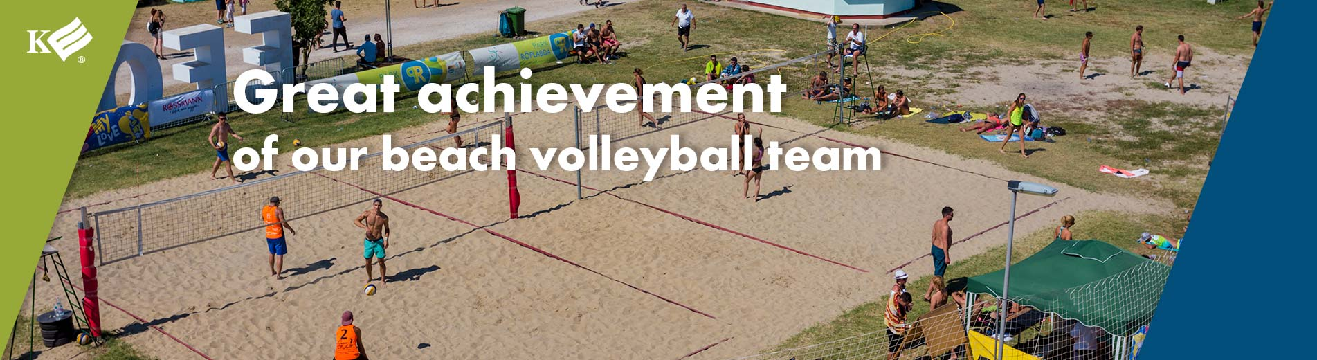 Great achievement of our beach volleyball team
